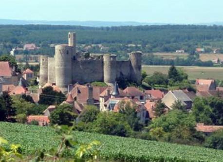 château et village de Billy à 25 min