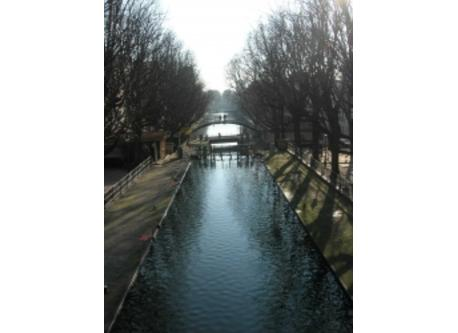 Canal Saint Martin, 200 yards from our place