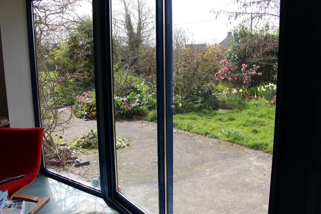 Véranda vue sur le jardin
