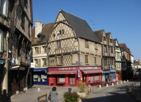Bourges : Old city
