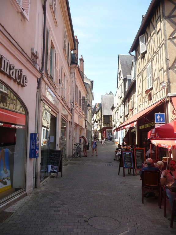 Bourges : town center