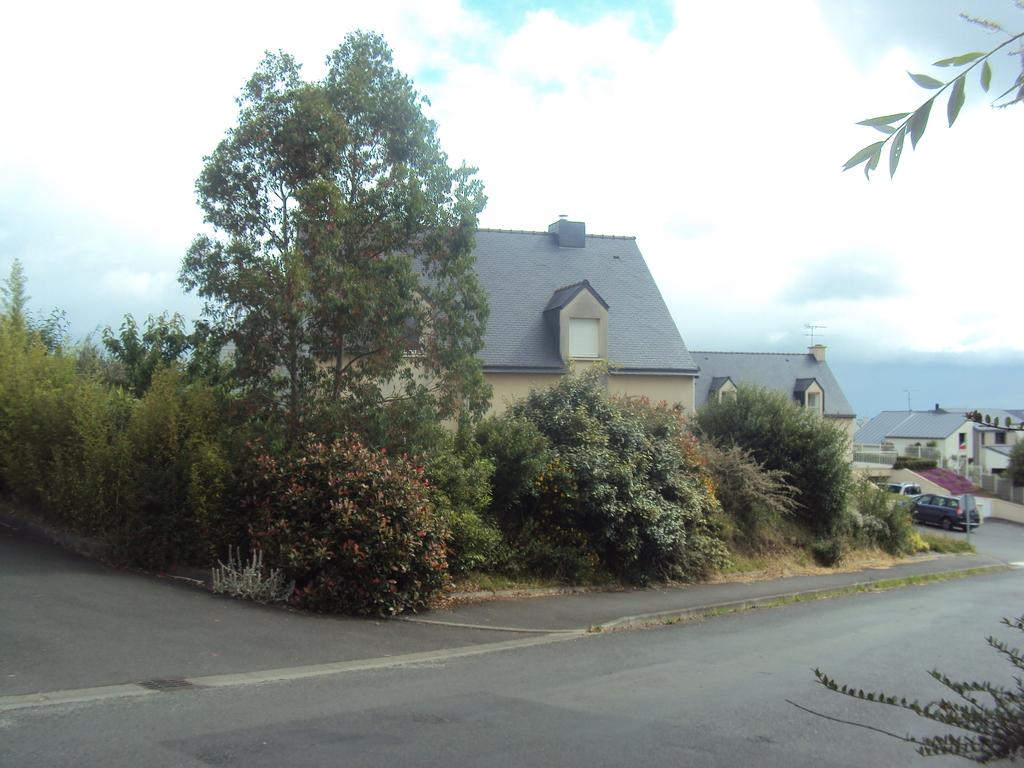 Maison vue de la rue