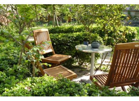 salon de thé extérieur