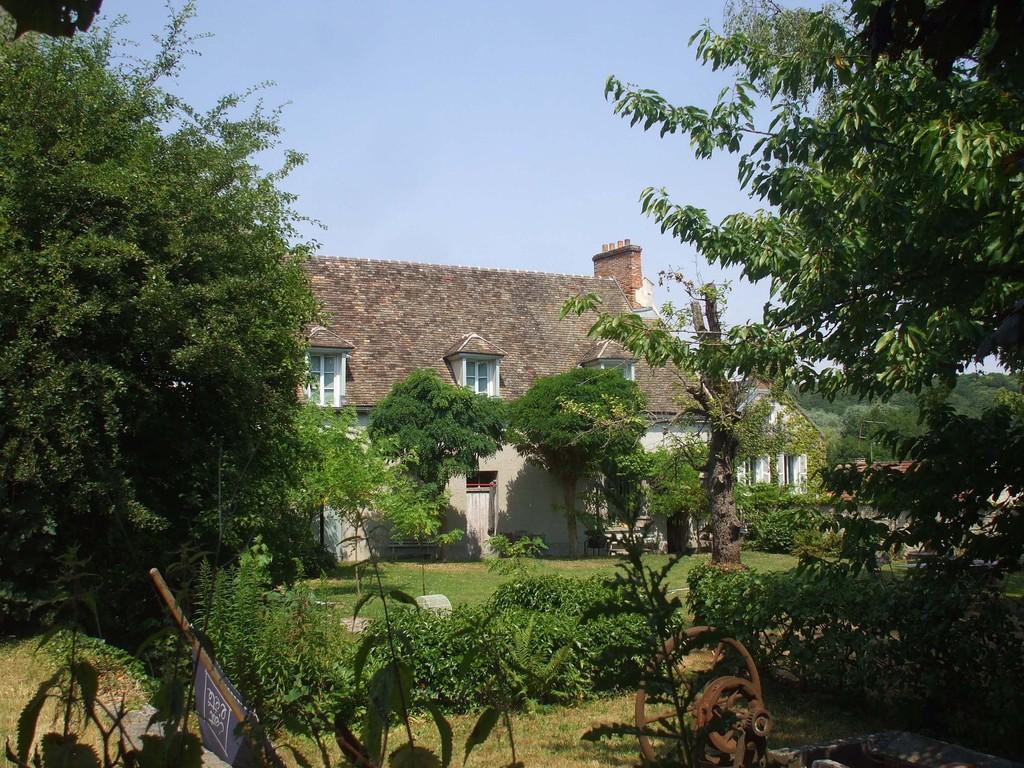 Jardin-façade arrière
