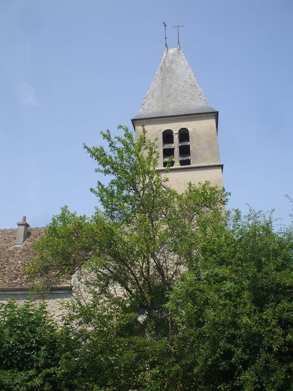 Jardin-église St Médard