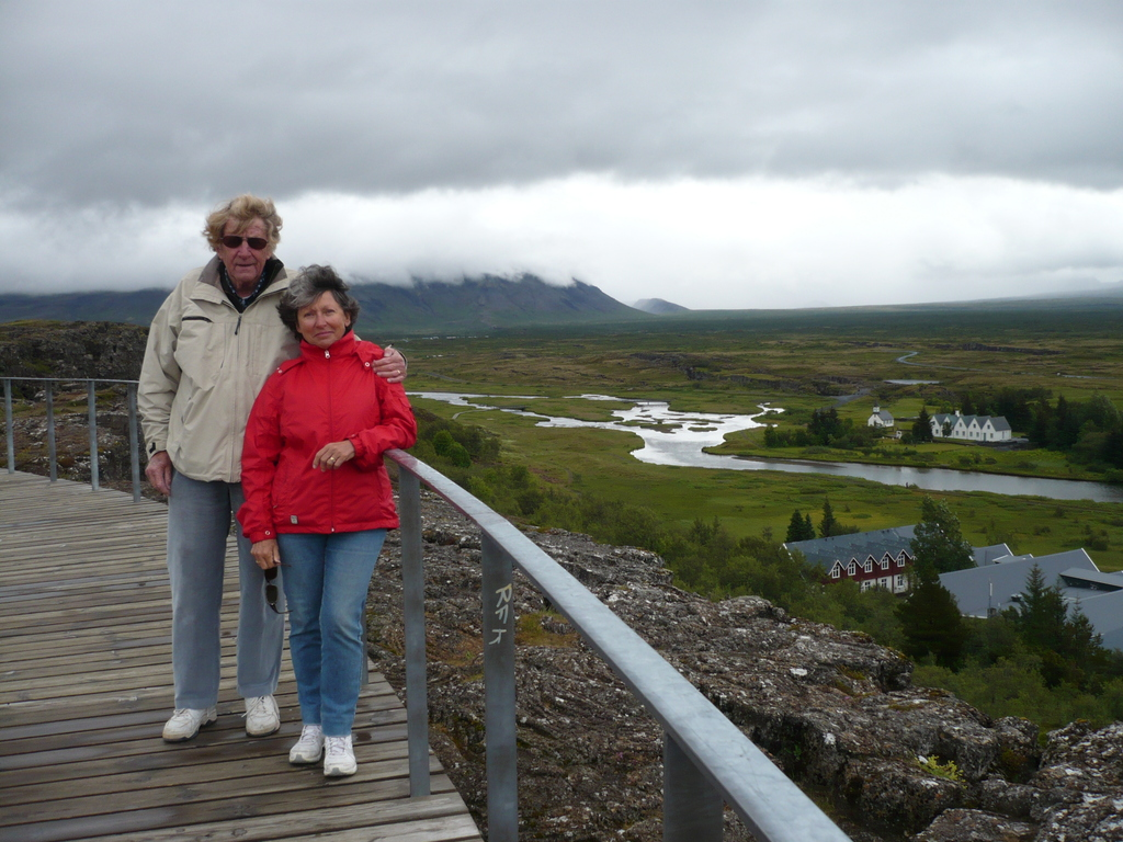 Jacqueline and Karsten in Iceland