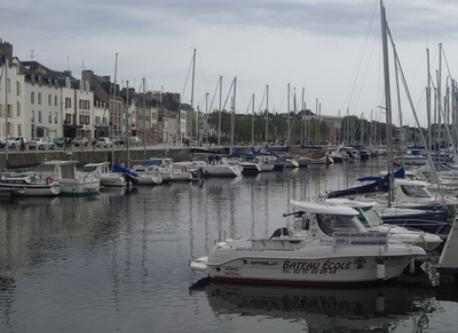 Vannes, the port