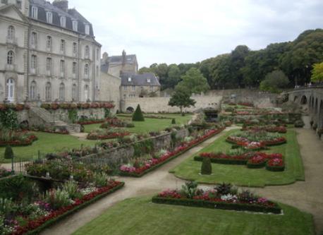 Vannes, La Garenne garden