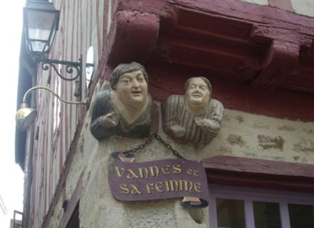 Vannes, town center