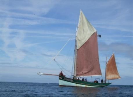 Sant C'hireg pour la visite de l'archipel des Sept Iles/ for the visit of the archipelago