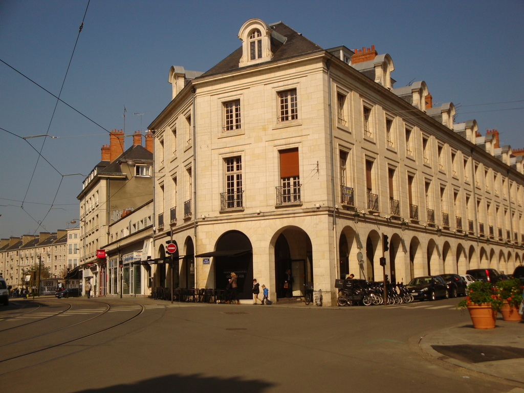 City center Rue Royale