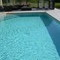 The heated & sheltered pool