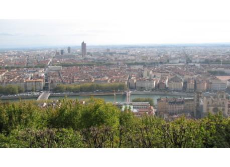 Lyon from Fourvière hill