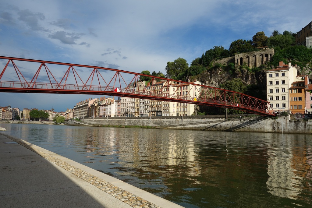 The river Saône in Lyon
