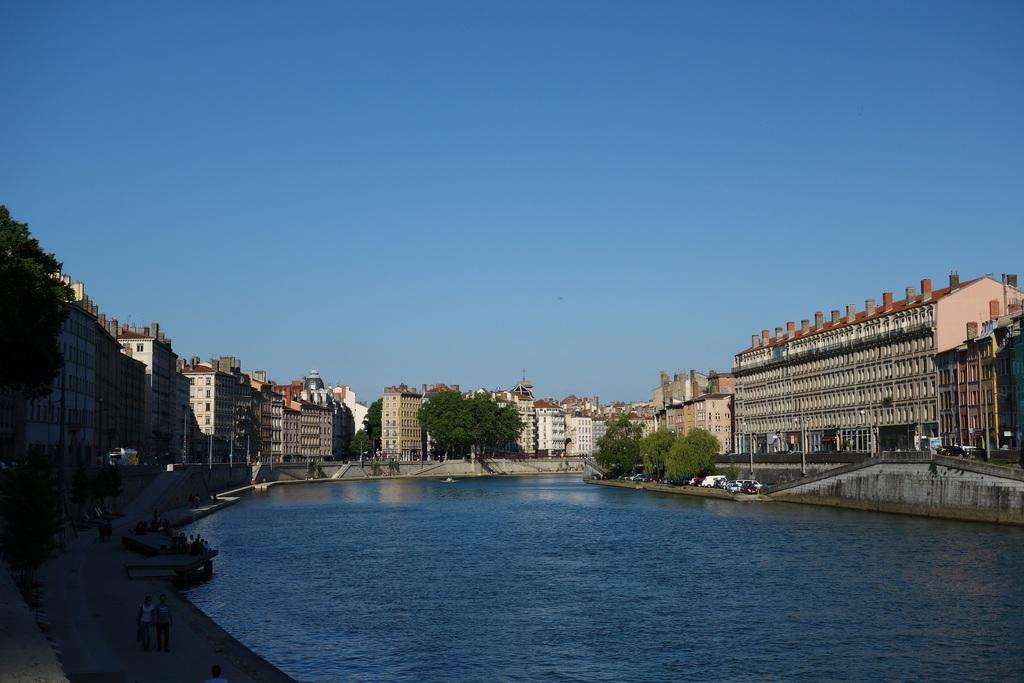 The river Saône in Lyon