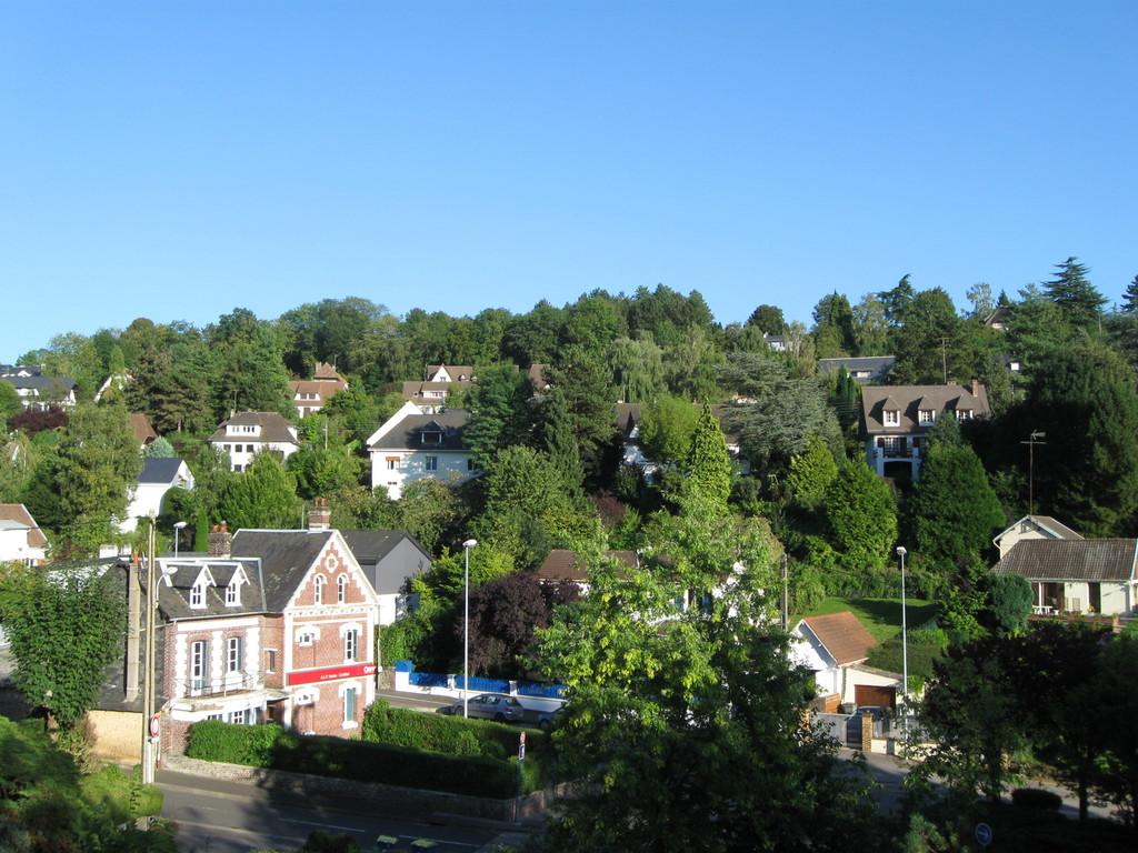 La vue depuis notre balcon