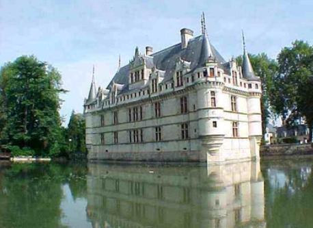 Château d' AZAY le Rideau