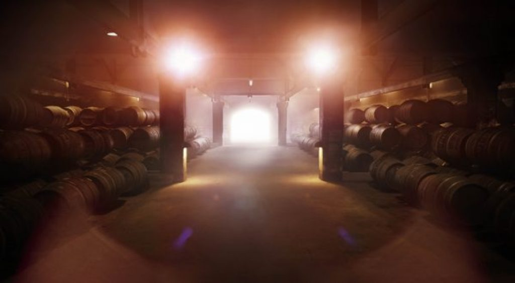 Visit of one of the most famous Cognac cellars