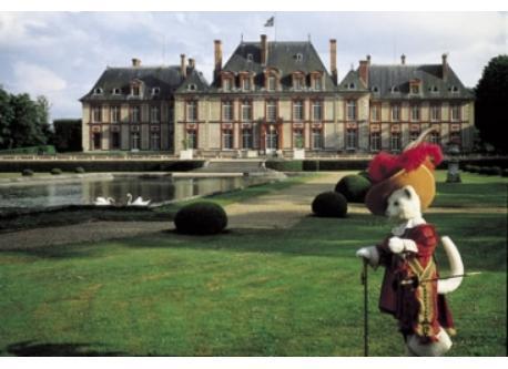 Breteuil castle, Perrault tales