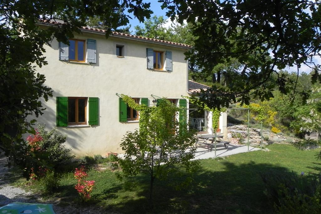 Our house in Provence, hot in the day and cool at night