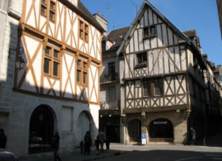 old street in Dijon