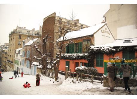Montmartre - the Lapin Agile cabaret