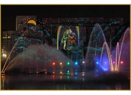 Illuminations de Strasbourg / Illuminations of Strasbourg / Beleuchtung von Strasburg