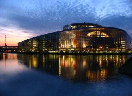 Parlement européen à Strasbourg / European Parliament in Strasbourg / Europäische Parlament in Strasburg