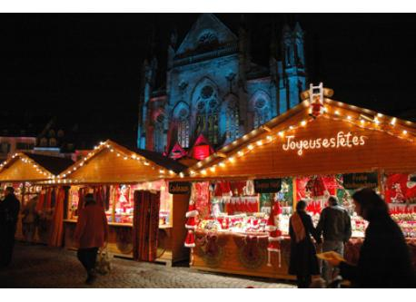 Marché de Noël à Strasbourg / Christmas Market in Strasbourg / Weihnachtsmarkt in Strasburg