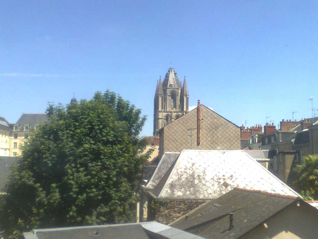tower viewed from a room