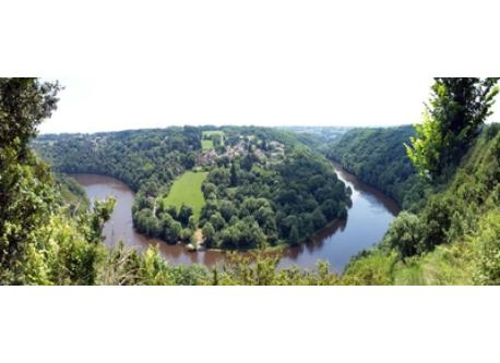 Creuse river valley