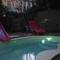 piscine la nuit