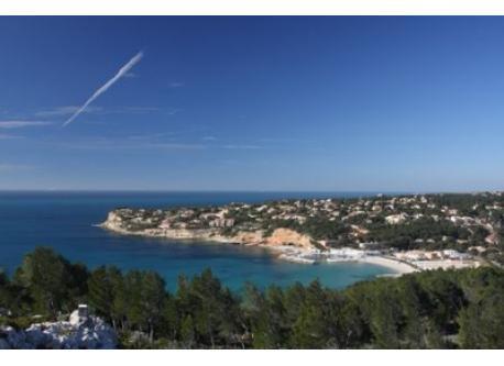 Beaches of la côte bleue