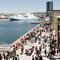 Les Terrasses du Port : nouveau centre commercial à 5 minutes à pied de notre appartement.