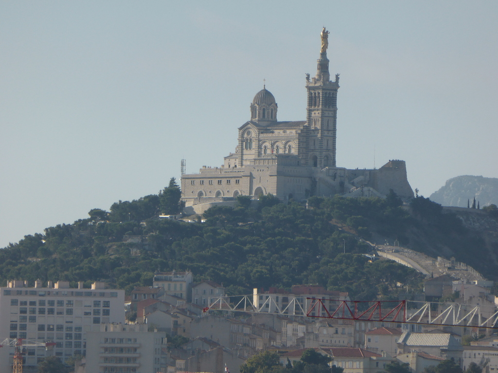 Notre Dame de la Garde view from our terrace