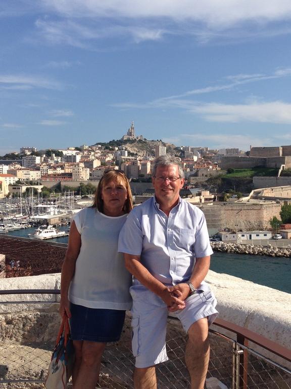 Sylvie et Daniel au Fort Saint Jean (sept 2014)