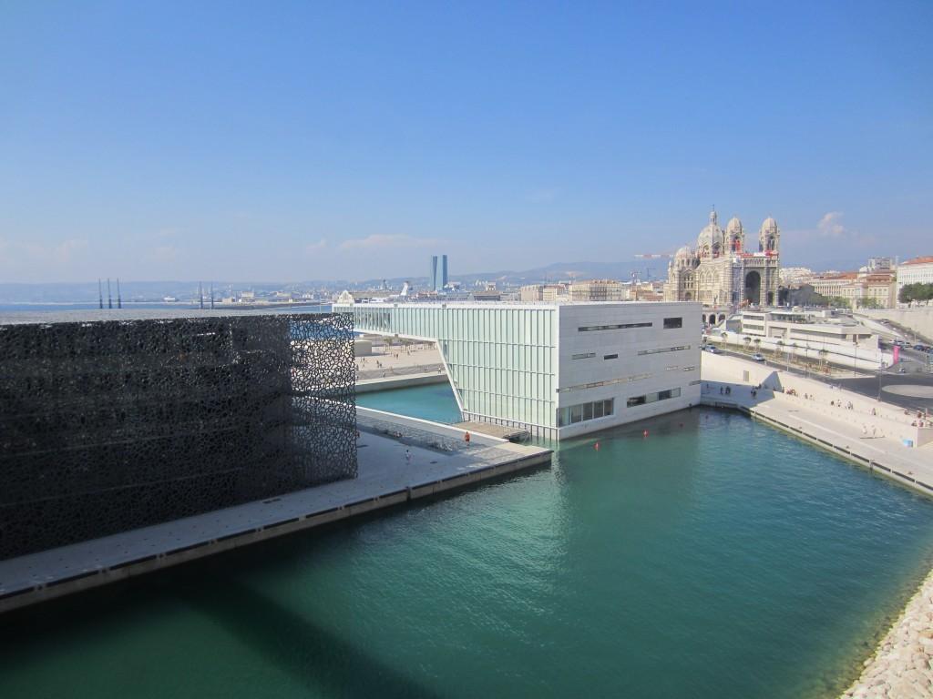 Le Mucem et la Villa Méditerranée