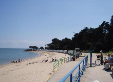 beach on Noirmoutier island