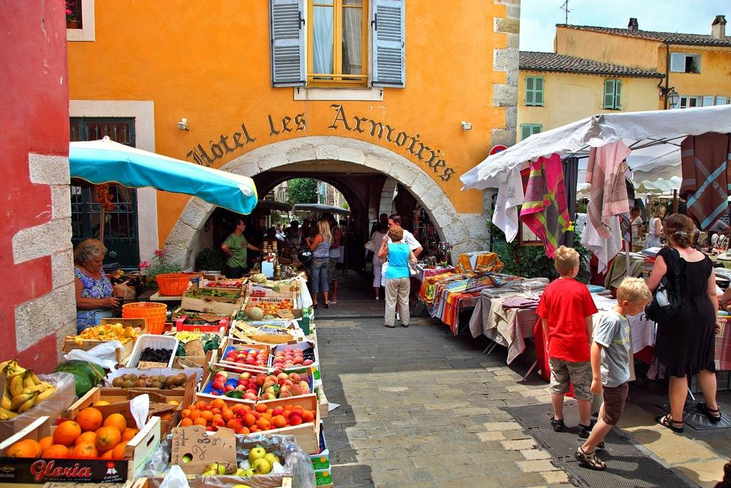 Le marché de Valbonne Village