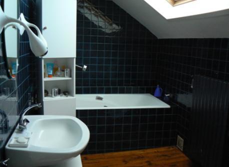 The bath room (first floor)