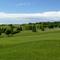 golf sur lequel se trouve la maison