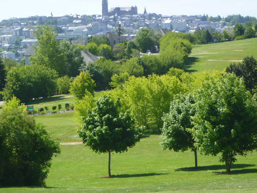 vue depuis le golf