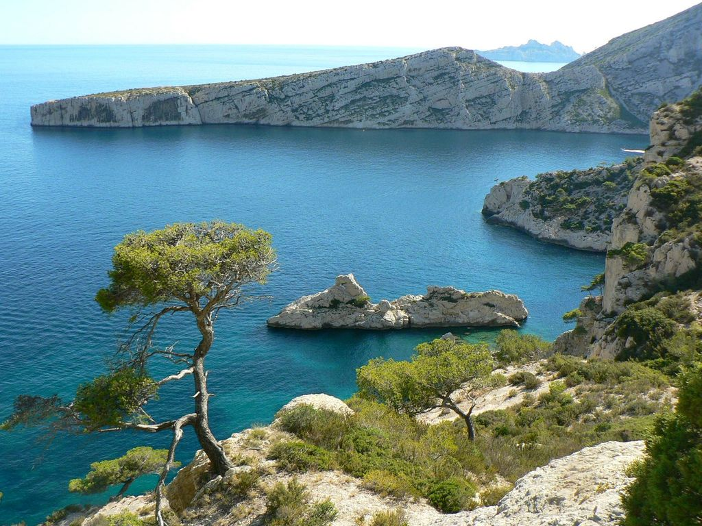 The Mediterranean sea near Marseille