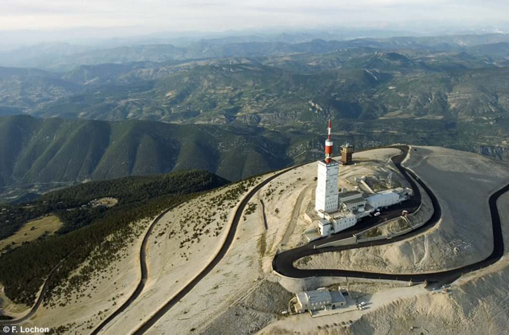 le MONT VENTOUX a big stage of Tour de France (bike)