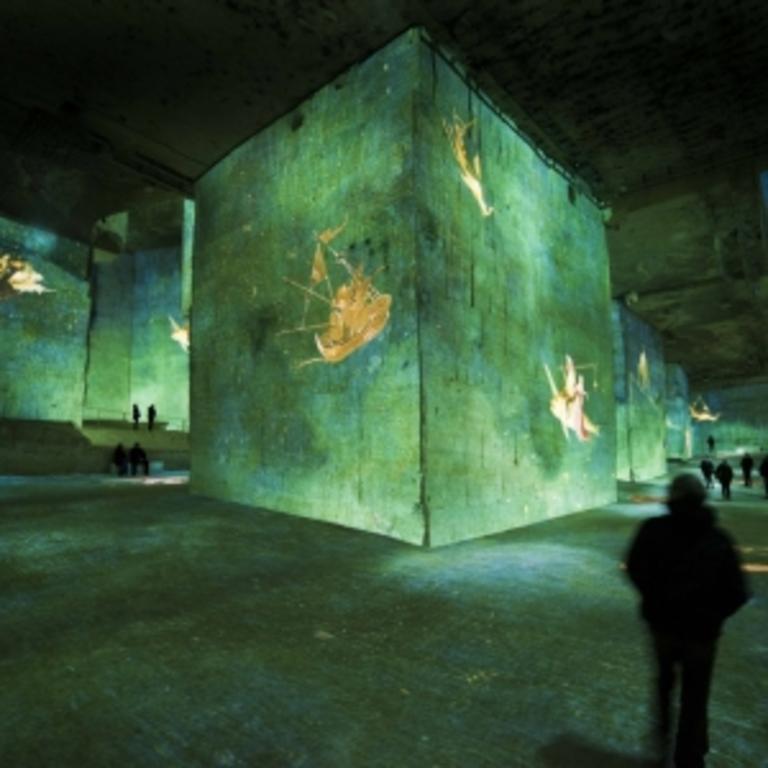 les carrieres de lumière (Baux de Provence)