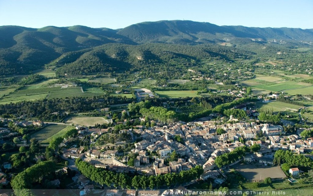 our village, Cucuron