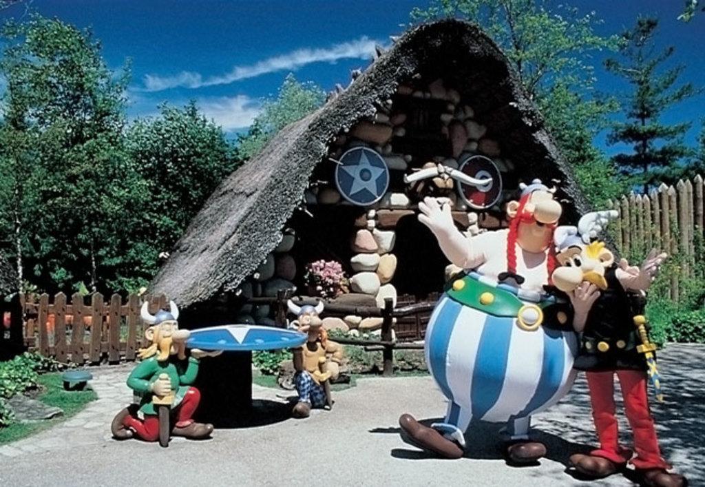 Asterix Park 50 min drive