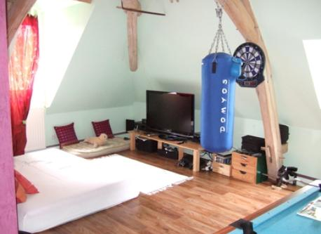 Play and TV room