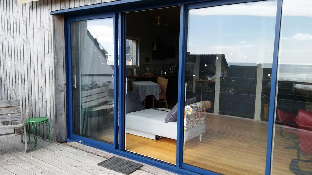 La salle vue de la terrasse