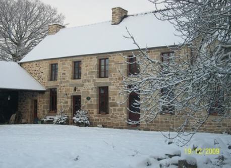 La maison sous la neige...